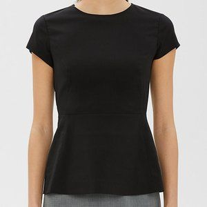 Theory Carrian R Top Poplin NWT